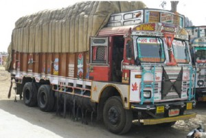 Indian rigid truck