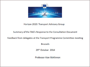 EU Horizon 2020 Advisory Group