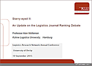 Starry-eyed II – journal rankings issue (LRN conference Sept 2015)